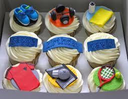 Cupcake Designs For Men Gym Cupcakes Cookie Decorating Cake Decorating Cupcakes