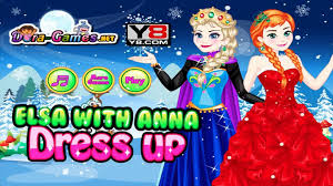 frozen game elsa queen anna princess wedding makeup and dress up for simple y8 dress up