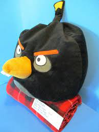 Jay Franco and Sons Angry Birds Bomb the Loon Pillow Plush – Hurricane Jack  Surplus