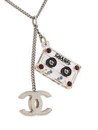 chanel pre owned cc logos cassette tape