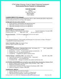 Sample Resume Fresh Graduate Accounting Student Resume Online