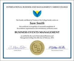 Administrative Professional Certificate Business Certificate Courses Online For Consultants And