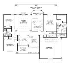 Colonial Style House Plan  4 Beds 250 Baths 2000 SqFt Plan 48161Floor Plans Under 2000 Sq Ft