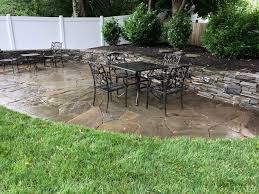 landscape fabric stone patios and weeds