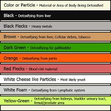 Fresh Foot Detox Machine Color Chart Clasnatur Me