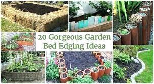 cheap garden edging. Cheap Garden Edging Ideas Bed Border Gorgeous That Anyone Can Do 9 Creative