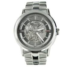 kenneth cole automatic skeleton dial mens watch kc3925