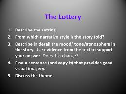 a short story the lottery by shirley jackson ppt video online  the lottery by shirley jackson 2 the