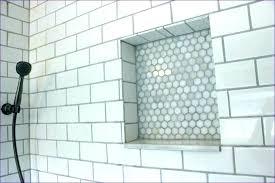 subway tile shower niche. Brilliant Tile Bathroom  Intended Subway Tile Shower Niche S