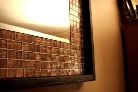 copper tiles and chandeliers pendant