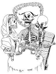 El Dia De Los Muertos Squelettes El Dia De Los Muertos