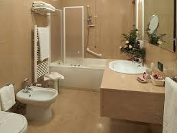 Inspiring Simple Bathroom Designs For Your Minimalist Home - Beige bathroom designs