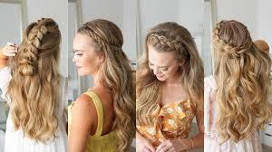5 half up dutch braid hairstyles