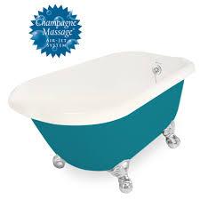 american bath factory champagne jester 54 bisque acrastone tub drain no faucet holes