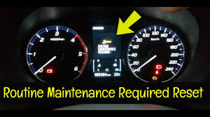 Mitsubishi Lancer Reset Service Light Mitsubishi Outlander Service Warning Reset 2016 Present How To Diy