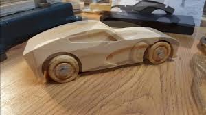 Wooden Race Car Designs Wood Muscle Car Build An Easy Cnc Project