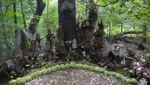 fairy gardens. Natural Fairy Garden Gardens
