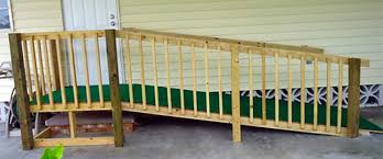 wood wheelchair ramps