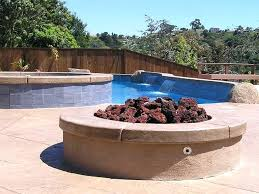 fire pit glass stones rocks pits at outdoor lava rock elegant gas