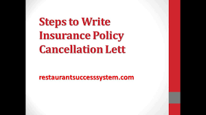 steps to write insurance policy cancellation letter 2016 steps to write insurance policy cancellation letter 2016