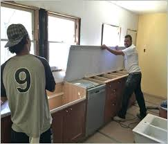 how to install a dishwasher with granite countertops attaching dishwasher to granite crew install quartz how