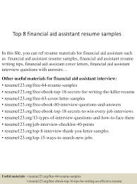 Financial Aid Assistant Sample Resume Top224financialaidassistantresumesamples22450522422359224224lva224app62249224thumbnail24jpgcb=22424322424752024 15