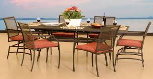 laa wrought iron 7 pcs dining collection