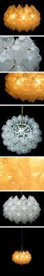 kalmar crystal glass chandelier light sculpture 1960 large