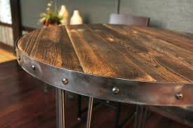 wood round table reclaimed wood round table modern wood coffee table cleaner