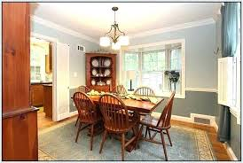 paint color ideas for dining room with chair rail dining