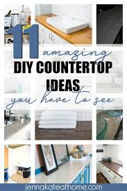 diy countertop ideas that are not only inexpensive but beautiful too