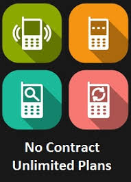 No Contract Unlimited Cell Phone Plans Guide Comparison Chart