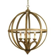 currey and company axel orb 4 light brass chandelier