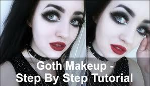 goth makeup tutorial