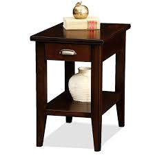 amazoncom leick laurent chairside end table with drawer kitchen