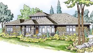 Contemporary Craftsman House Plans   Modern Home    Contemporary Craftsman Prairie Style Southwest House Plan Good Contemporary Craftsman House Plans Designs On
