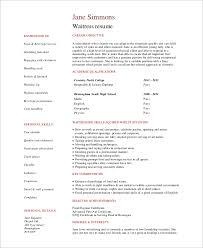 Sample Waitress Resumes 6 Sample Waitress Resumes Pdf Word