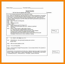 Medical Chart Note Templates Soap Note Template Counseling Best Of 12 Medical Chart Note