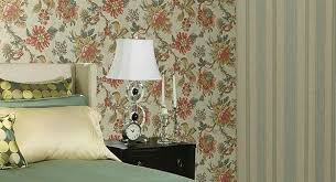Small Picture Modern Wallpaper Combinations for Interior Decorating with Flowers