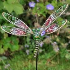 dragonfly garden stakes. Wire Dragonfly Garden Stake. \u2039 Stakes