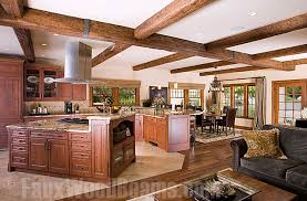 faux wood ceiling beams. Wonderful Faux Open Floor Plan Designs Get A Dramatic Decor With Faux Timber Ceiling Beams On Faux Wood Ceiling Beams B