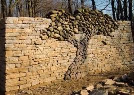 Stone tree design in a rock wall - very cool | garden ideas | Pinterest |  Tree designs, Gardens and Garden ideas