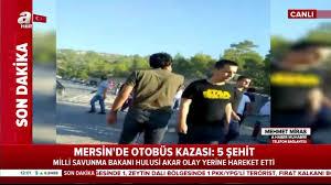 Son dakika haberi: Mersin Mut'ta askerleri taşıyan otobüs devrildi:  Şehitlerimiz var... - Son Dakika Haberler