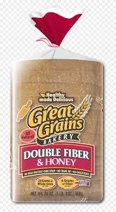 gg double fiber face slick bread hd png