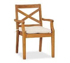 hampstead teak dining chair honey j