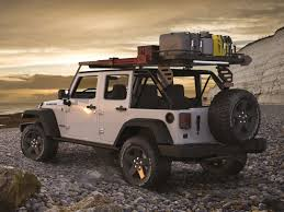 jeep wrangler jku 4 door 2007 cur slimline ii extreme roof rack kit by front runner