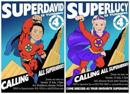 Personalized Superhero Birthday Invitations Kids Superhero Party Ideas The Ultimate Roundup Of Invitations