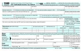 Irs form 1040 is a tax return used by individual filers. What Is The New Irs 1040 Form For 2020 2021