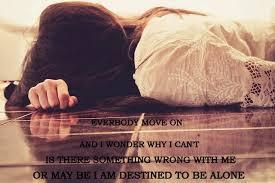 AloneGirlQuotesDestinedToBeAlonesadcryingloneyl Flickr Beauteous Sad Crying Images With Quotes