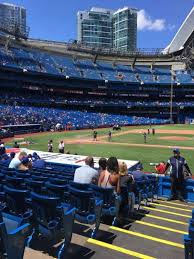Rogers Centre Section 116r Home Of Toronto Blue Jays